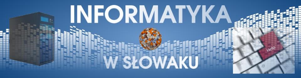 Informatyka w Słowaku